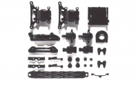 Tamiya 51002 TT-01 Front & Rear Knuckles / Gear Case (A-Parts)