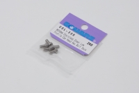 Square Steel M3 LH Cylinder Cap Screw 3x6mm