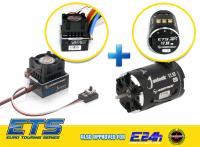 Hobbywing XeRun XR10 Justock ESC (ETS+TOS) + XeRun Justock 3650SD G2.1 17.5T Motor
