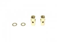 Square SGE-5010G Alu Post Set M3x5.0 x 10.5mm Gold