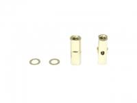 Square SGE-5013G Alu Post Set M3x5.0 x 13.5mm Gold