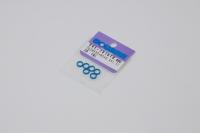 Square SGE-7515TB Aluspacer 5.0 x 6.4 x 1.5mm Tamiya Blue