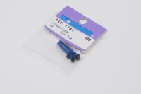 Square SGE-17BY Alu Stabilizer Rod Stoppers (4) Yokomo Blue