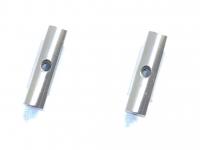 Square SGE-5016S Alu Post Set M3x5.0 x 16.0mm Silver