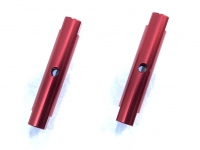 Square SGE-5026R Alu Post Set M3x5.0 x 26.0mm Red