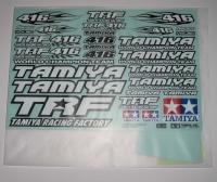 Tamiya TRF416 Aufklebersatz