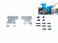 Square SCC-3S Tamiya CC-02 Front/Rear Shock Stay Silver