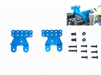 Square SCC-3BS Tamiya CC-02 Front/Rear Shock Stay Light Blue