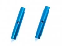Square SGE-5028TB Alu Post Set M3x5.0 x 28.0mm Light Blue