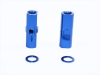 Square SGE-5013BY Alu Post Set M3x5.0 x 13.5mm Yokomo Blue