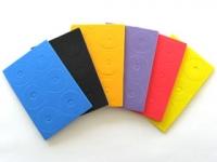 Square SGE-52OR Adhesive Body Cushion Pads (12 Pcs.) Orange