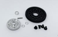 RCK Tuning Spurgear Kit for Tamiya TT-01 - RCK-KleinSerie Porsche Cup - 63 Teeth