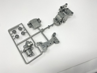 Tamiya 10005597 A-Parts Silver TA-01 TA-02
