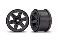 Traxxas TRX6772 Wheels Rustler 4x4 2.8 Black