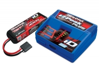 Traxxas TRX2994GX Battery/charger completer pack (includes #2970 iD® charger (1), #2849X 4000mAh 11.1v 3-Cell 25C LiPo Battery (1))