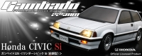1/10 Mini ABC-Hobby Gambado225 Honda Civic Type-R (FD2)