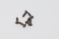 Square Tapping Titanscrew 3mm Countersunk-Head (+) 3x10mm (6 pcs.)