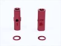 Square SGE-5013R Alu Post Set M3x5.0 x 13.5mm Red