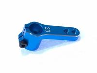 Square SGE-81TB Alu Servohorn Standard 15/19mm Light Blue (Sanwa = 23T)