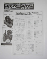 Tamiya TRF416 Bauanleitung + Setting Sheet
