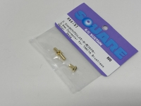 Square SGC-97 3.5mm Gold Connectors (e.g. forr Tamiya TBLE BL Motor)