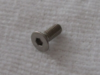 Square Steelscrew M3 Countersunk-Head 3x8mm