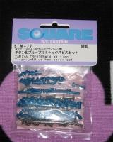 Square STM-77 Tamiya TRF416 World Edition 42138 Alu-Titanschraub