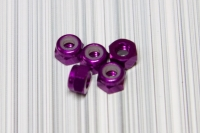 Square SGE-13P 3mm Alumuttern Purple