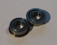 Flanged Centershaft Bearings (2x 840) Metal Shielded